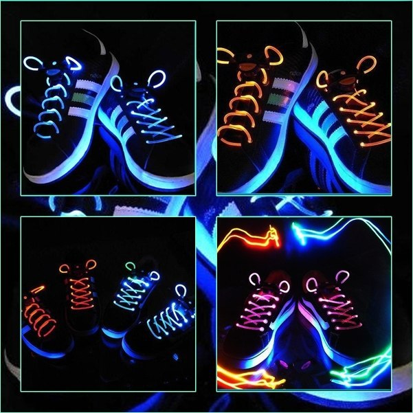 Как сделать чтобы шнурки светились в домашних условиях