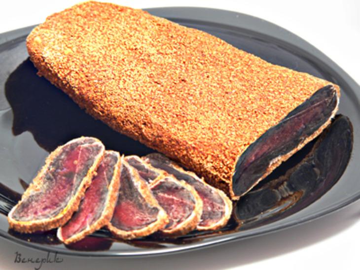 Бастурма из говядины рецепт с фото