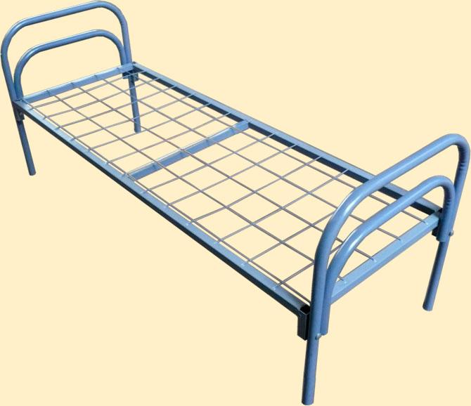 Железные армейские кровати, одноярусные металлические для больниц, бытовок, обще