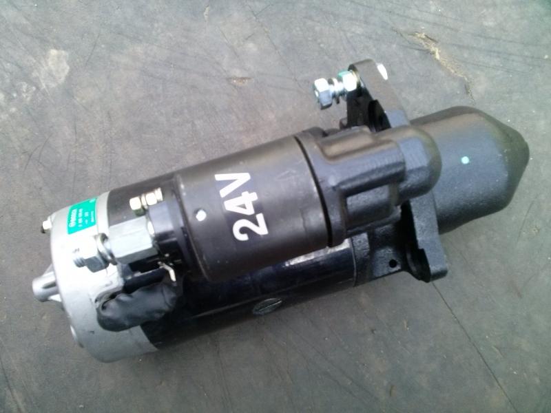 Стартер Тата 613 (Tata) 24V оригинал и 12V аналог