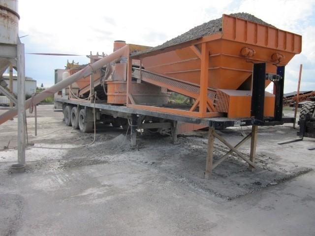 Б/у мобильный бетонный завод Hartmann