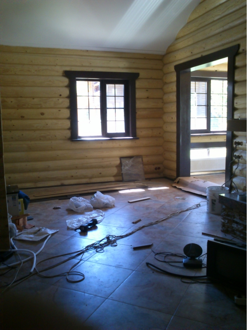 Ремонт в своем деревянном доме цены
