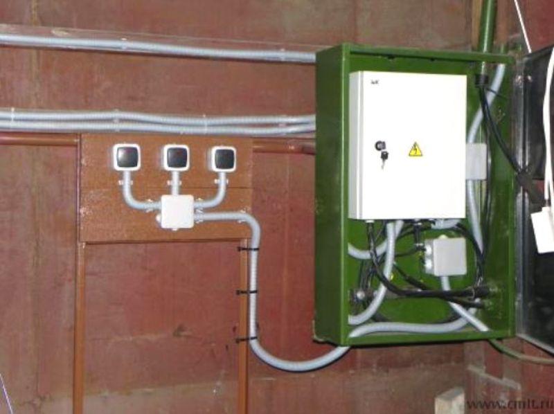 Электричество для гаража своими руками 84