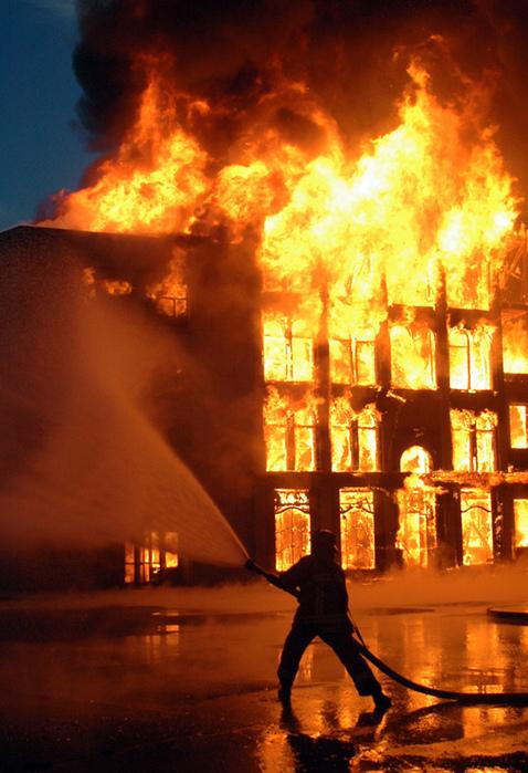 Пожарная безопасность в Москве