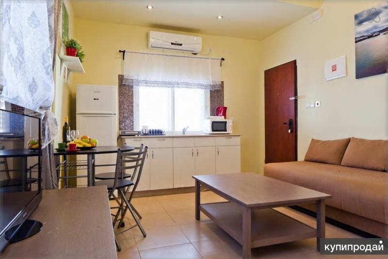 Квартира в Тель Авиве 1 минута от моря.
