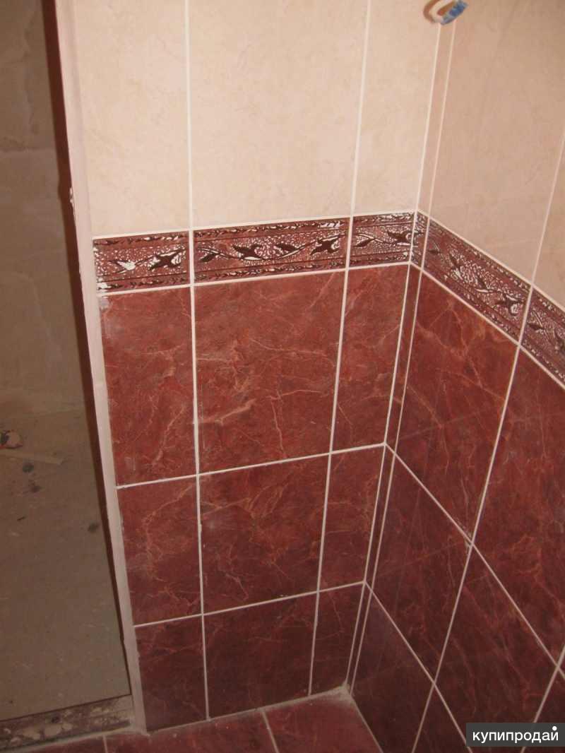 Укладка плитки на пол в ванной самоучитель