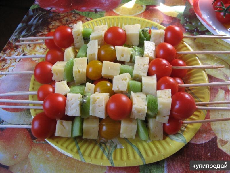 Летние салаты к шашлыку рецепты с