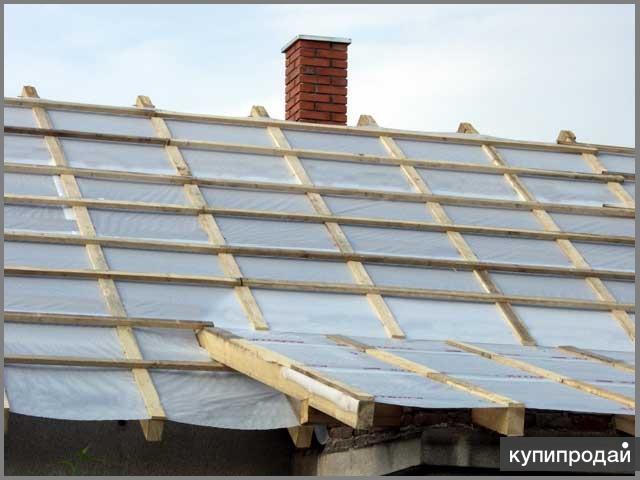 Как сделать пароизоляцию для крыши