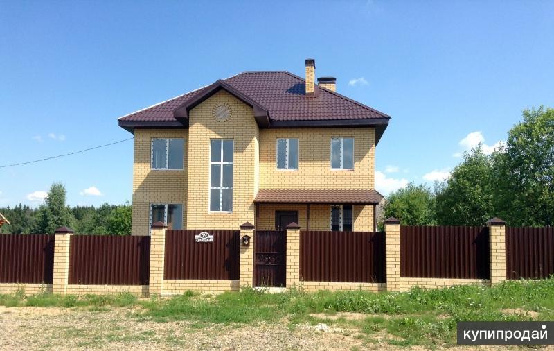 Новый 2-х этажный каменный коттедж на участке 10 соток в Александрове