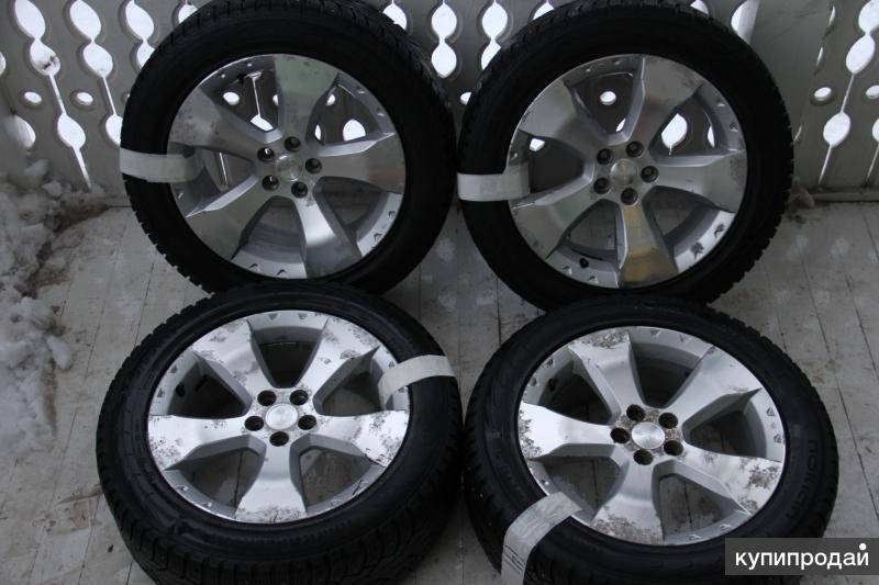 Колеса Subaru Forester 225/55R17 Bridgestone