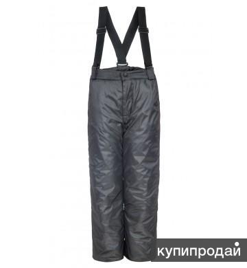 Детские утеплённые брюки на синтепоне.