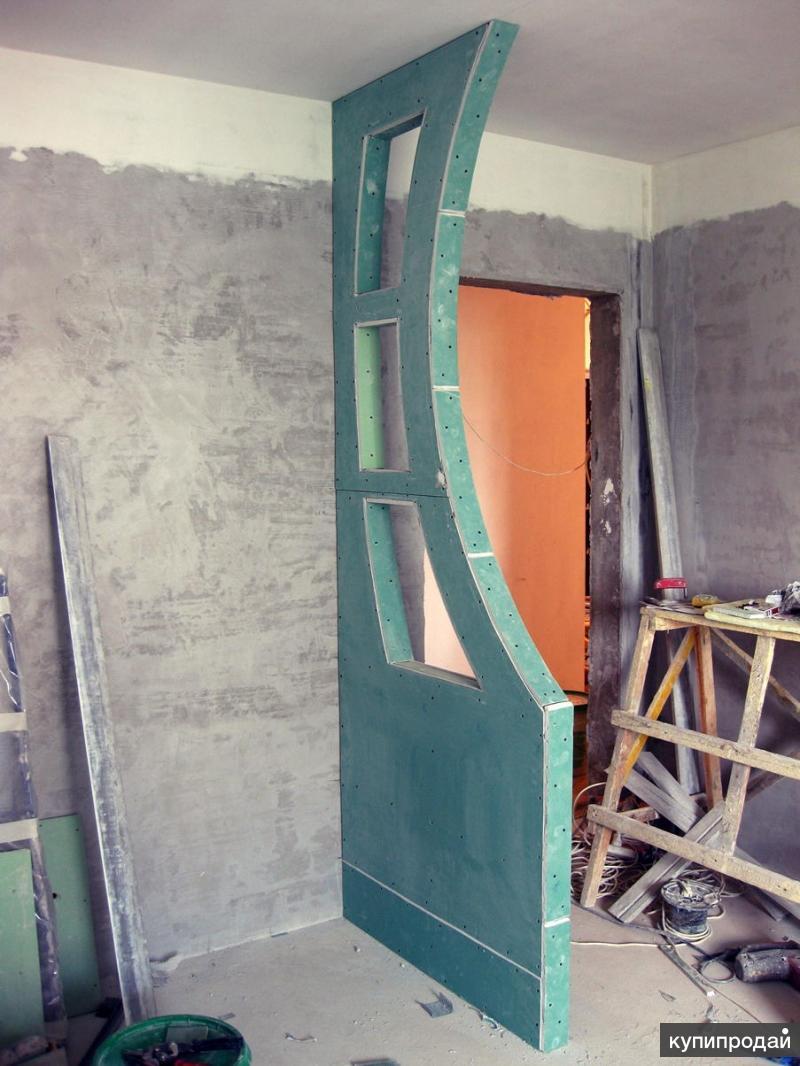 Украшаем стену из гипсокартона своими руками