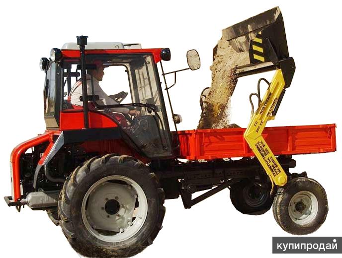 Самопогрузчик на трактора Т-16, ВТЗ-30СШ, ВТЗ-50СШ.