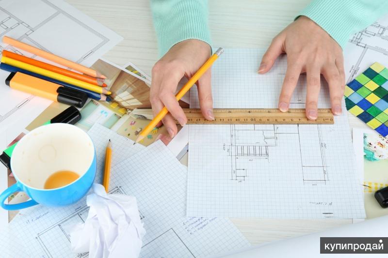 Разработка дизайн проектов (интерьеры)