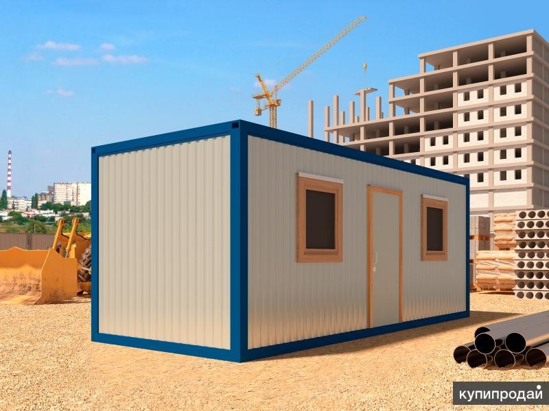 Блок контейнер 6х2,45 распашонка