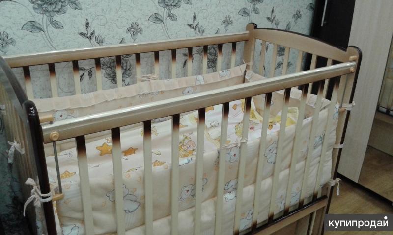 Кроватка детская (от первого ребенка)