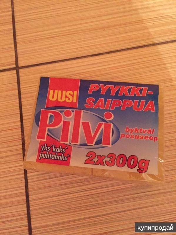 Финское мыло пятновыводитель Pilvi 2x300