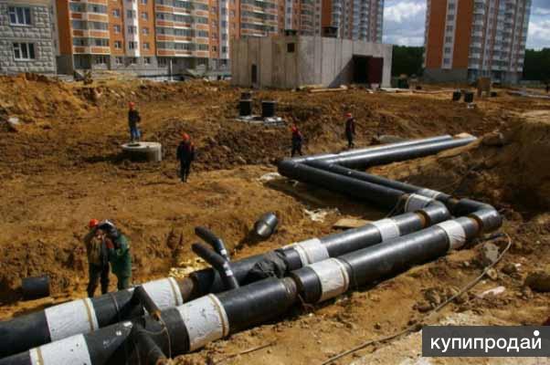 Строительство, ремонт, проектирование наружных сетей