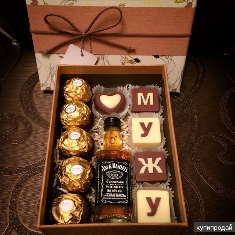 Подарок в коробке мужчине фото 48
