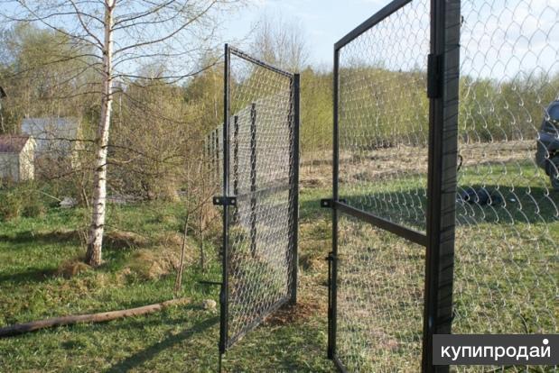 Ворота садовые, калитки. Доставка бесплатна по всей области