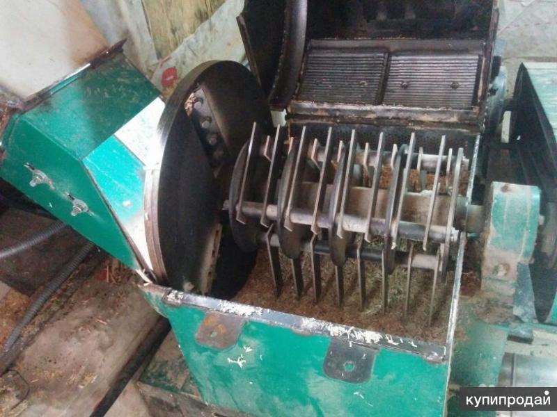 Линия по производству топливных брикетов пини-кей