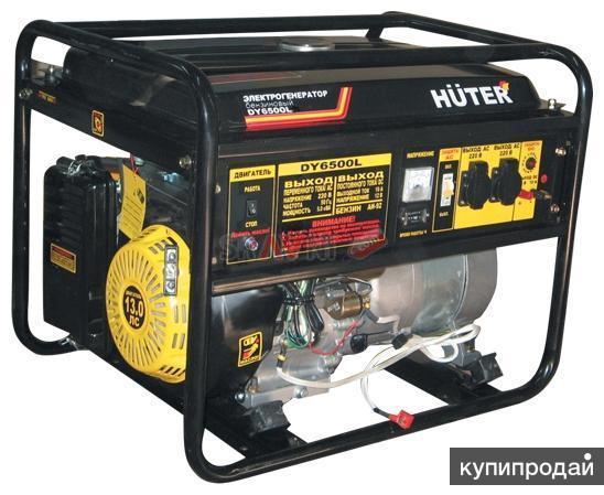 Генераторы huter DY6500L 5 Квт-Опт-Доставка