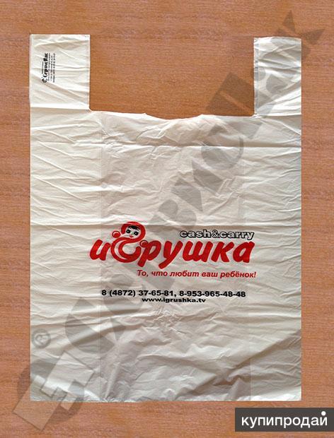 Изготовим на заказ пакеты с логотипом для  магазинов детских товаров