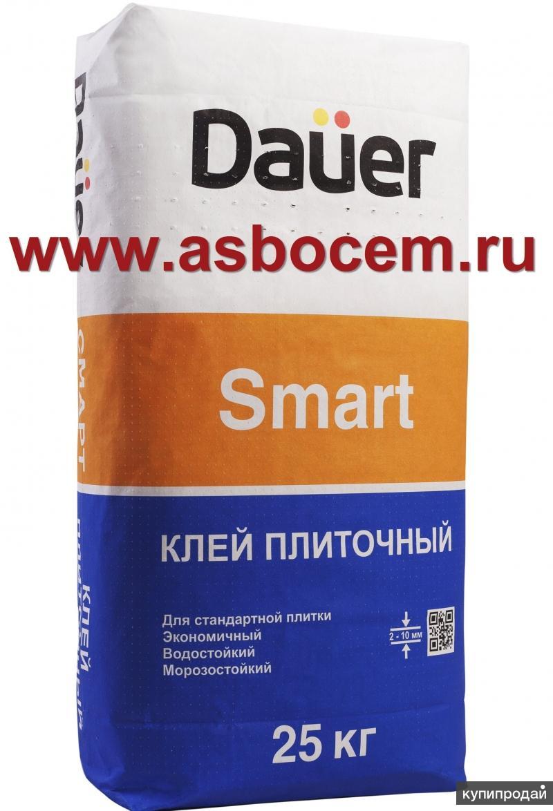 """Плиточный клей Smart """"Dauer"""". Мешок 25кг. Немецкое качество"""