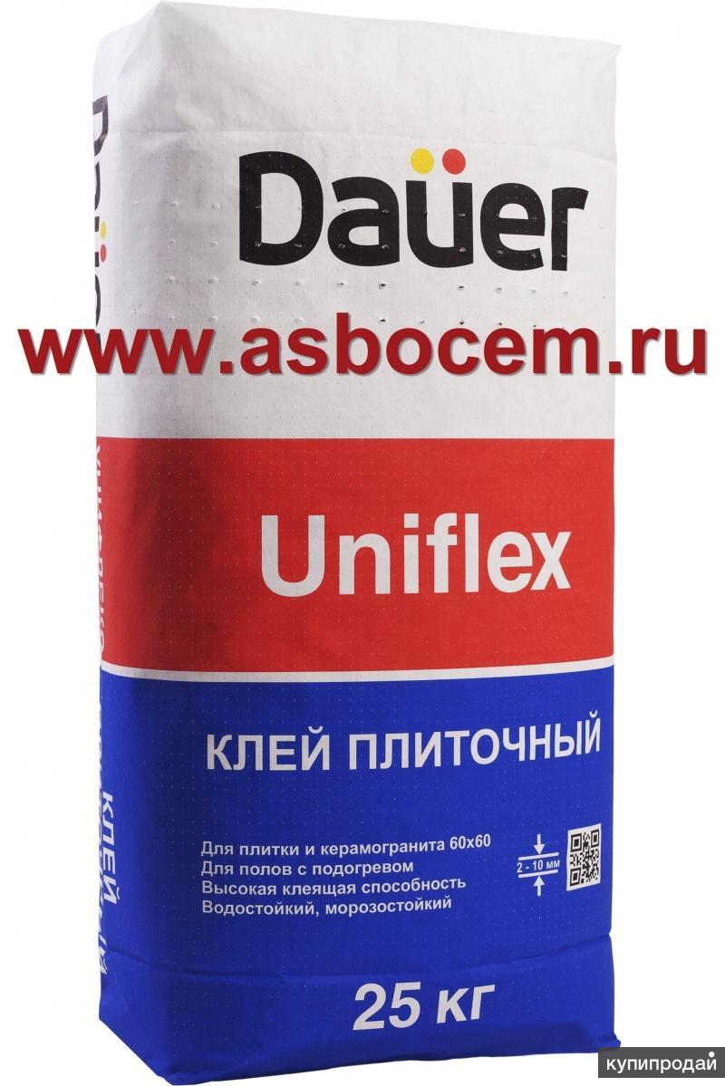 """Плиточный клей Uniflex """"Dauer"""". Мешок 25кг. Немецкое качество"""