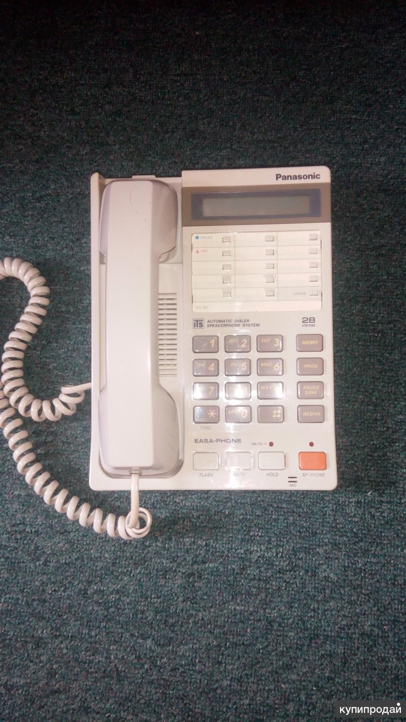Телефонный аппарат Panasonic. проводной.
