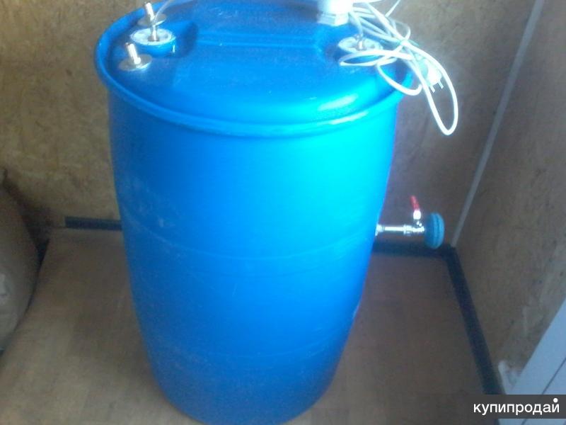 Переносной душ на 220 л .из бочки пэт .вес 8 кг