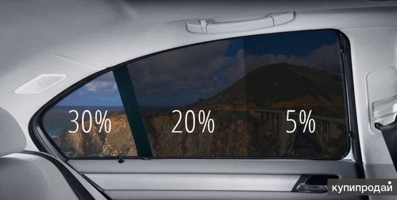 Тонировка стёкол автомобиля