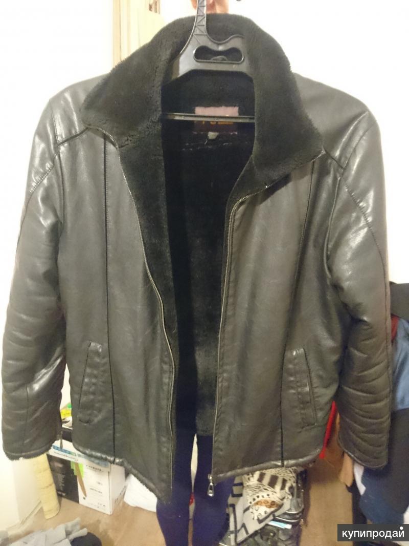 Чёрная куртка(кожаная)