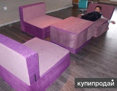 Бескаркасная модульная мебель