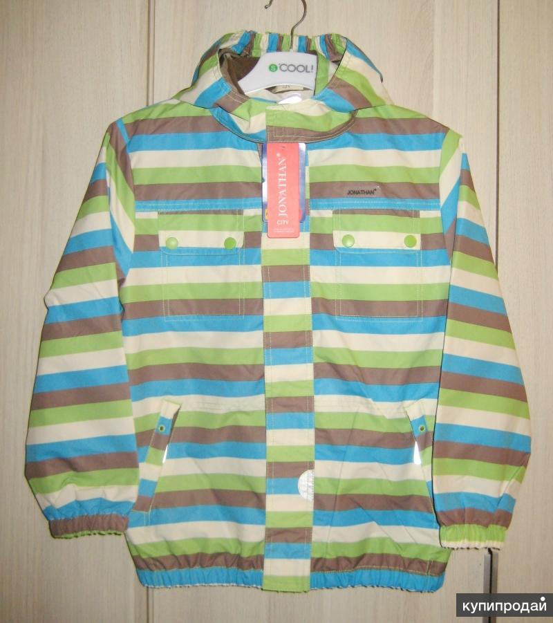 Новая куртка Jonathan City Takki р.134см