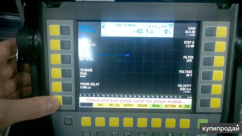 Ультразвуковой дефектоскоп на фазирующих решетках DIO 1000 PA Version 3