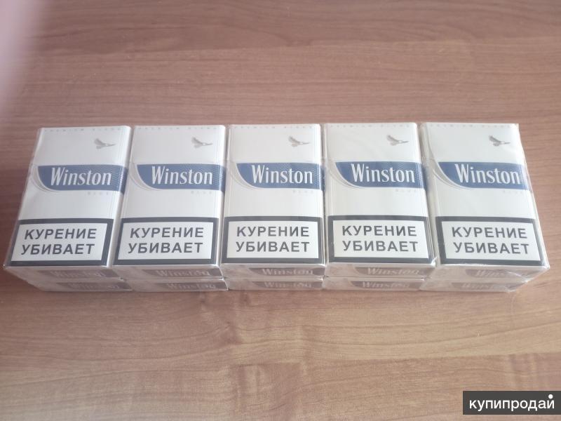 Муляж блока сигарет Winston BLUE