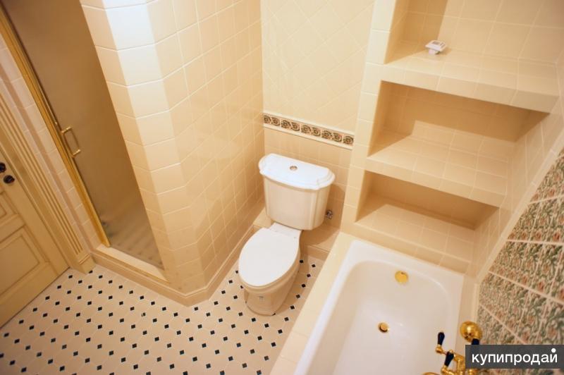 Установка ванн:чугунных, акриловых, стальных