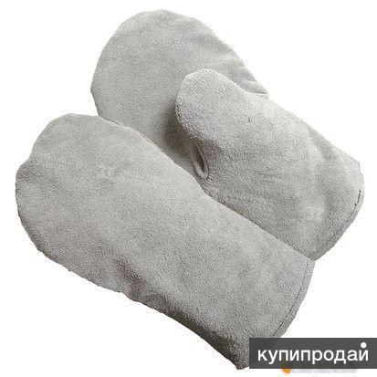 Рукавицы спилковые ЭКСТРА-2 ЗИМНЯЯ Артикул: 184