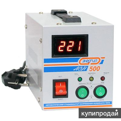 Стабилизаторы напряжения Энергия АСН