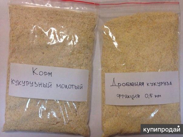 Продаю корм кукурузный молотый оптом