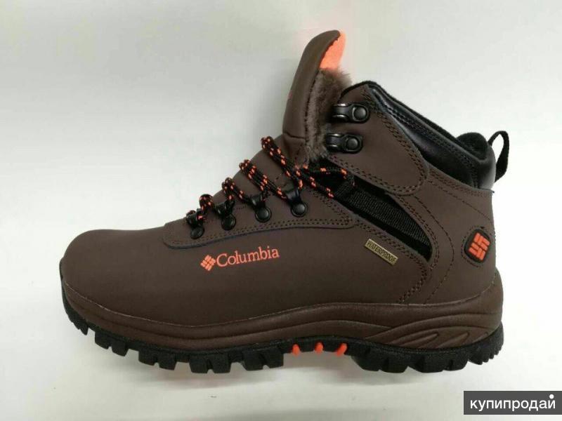 Новые ботинки Сolumbia (Натур. кожа, Натур. мех) 40 размера