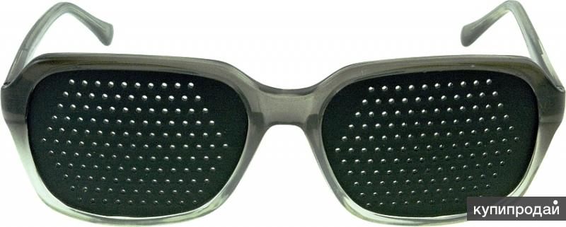 2042355  очки Федорова (тренажеры с таблицей Сивцева)