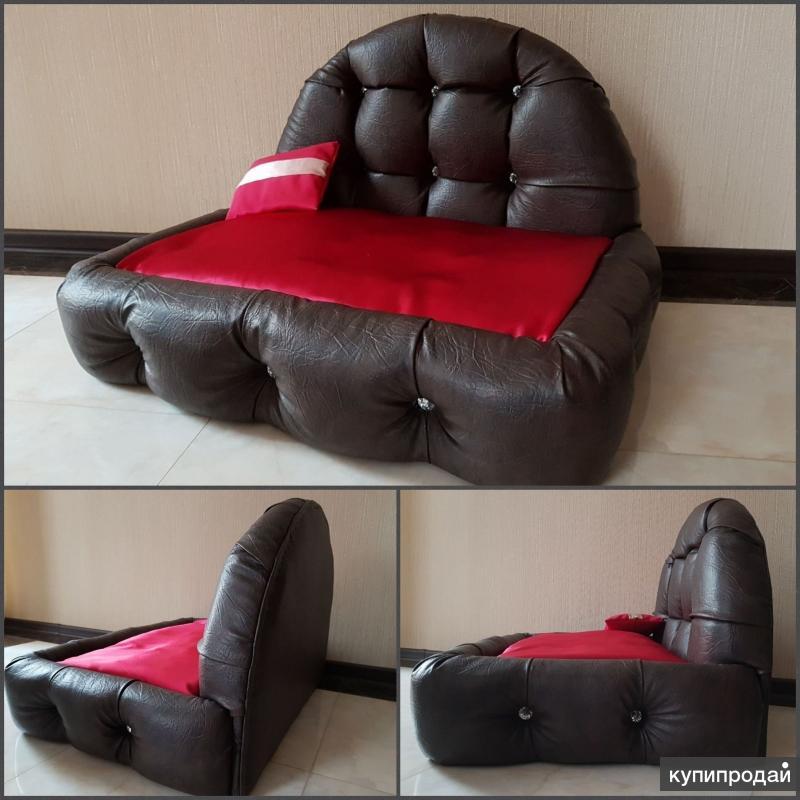 Лежанка кроватка для собак
