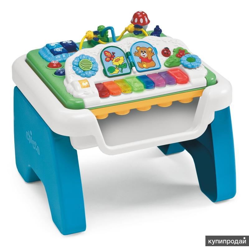 Продаю детский муз.-игровой столик Chicco