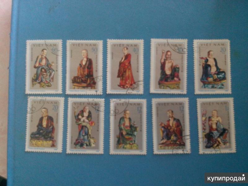Вьетнамские статуэтки комплект оригенал