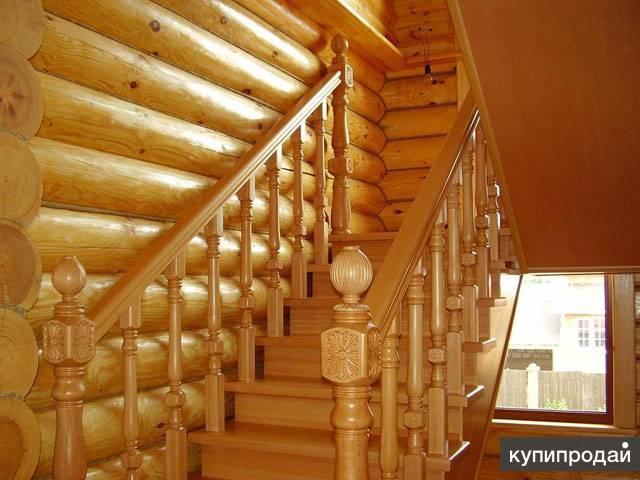 Изготовим деревянные лестницы