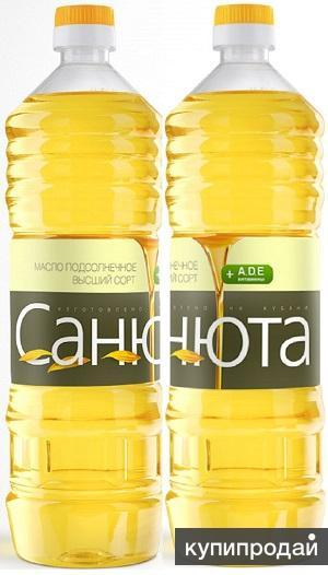 "Масло подсолнечное ""САНЮТА"""