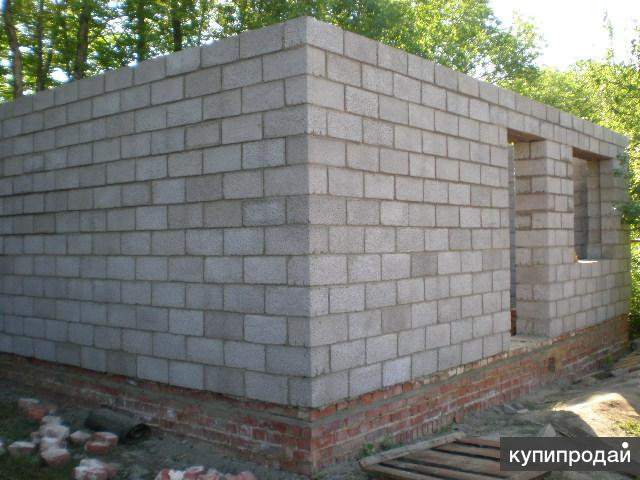 Строительство бани из керамзитоблока своими руками