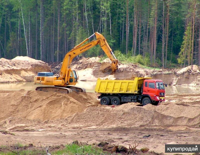 Разработка лучших песчаных карьеров в Лен.области